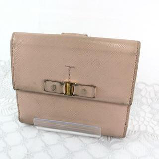 サルヴァトーレフェラガモ(Salvatore Ferragamo)の❤️セール❤️ フェラガモ 二つ折り財布 ピンク レディース サイフ(財布)