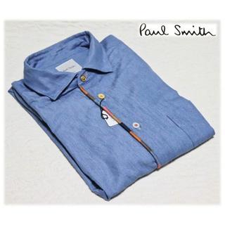 Paul Smith - 24,200円新品【ポールスミス 】インディゴ カジュアルシャツ L