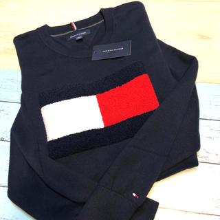TOMMY HILFIGER - トミー ヒルフィガー  上着 トップス 新品 黒 セーター ニット ブランド