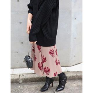 IENA - IENA フラワープリントスカート