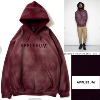 【APPLEBUM】Bleach Sweat Parka