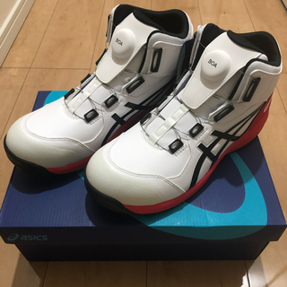asics - アシックス  安全靴 ウィンジョブ CP304 Boa   27cm