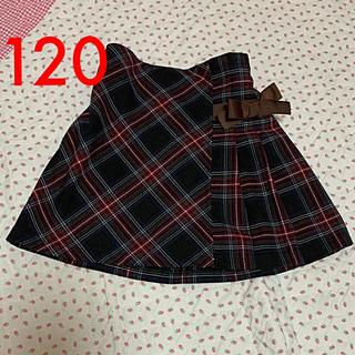 GU - GU✿ 120 ハーフプリーツスカート