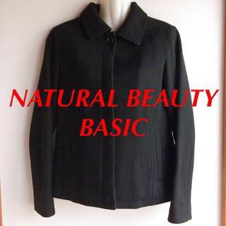 ナチュラルビューティーベーシック(NATURAL BEAUTY BASIC)のナチュラルビューティベーシック ステンカラージャケット(テーラードジャケット)