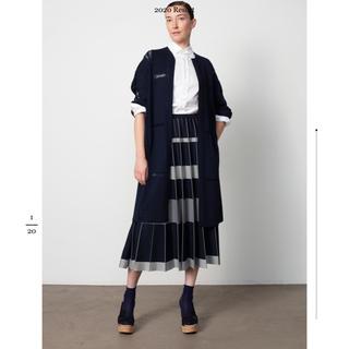 Drawer - ドゥロワー今季 18Gステレオボーダーニットスカート