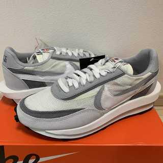 27cm Nike LD Waffle Sacai White Grey