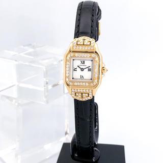 Cartier - 【仕上済】カルティエ パンテール アールデコ ダイヤ レディース 腕時計
