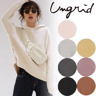 Ungrid - ungrid スリットワイドパーカー