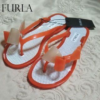 フルラ(Furla)の【新品・未使用】FURLA ラバーサンダル 35(サンダル)