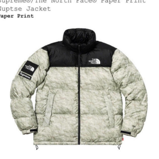 Supreme - supreme north face paper nuptse ヌプシ