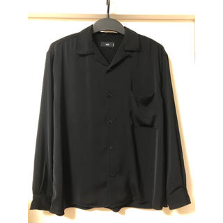 HARE - HARE サテンオープンカラーシャツ