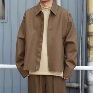 SUNSEA - YOKE CUT-OFF DRIZZLER JACKET ドリズラー 18AW