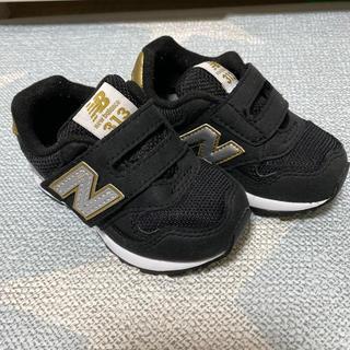 New Balance - ニューバランス スニーカー 12㎝ 黒