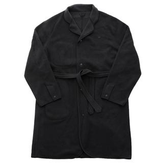 ポーター(PORTER)のPhaeton別注 FLEECE GOWN COAT BLACK (カーディガン)