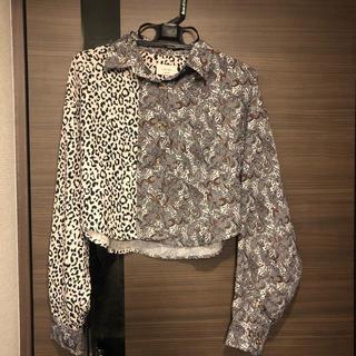 マウジー(moussy)のJuemi クレイジーレオパードシャツ(シャツ/ブラウス(長袖/七分))