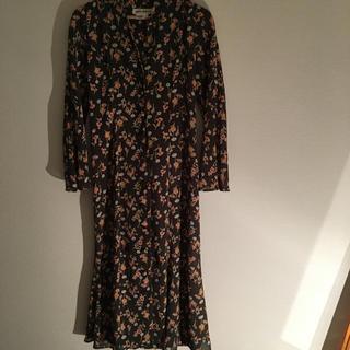 EDIT.FOR LULU - vintage  花柄 ロングワンピース ドレス ガウン
