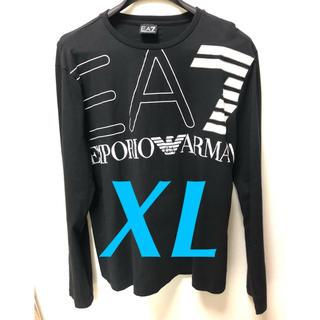 Armani - ARMANI ビッグロゴ ロンTシャツ