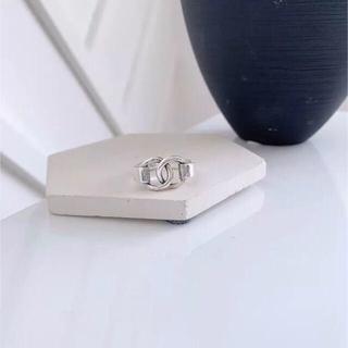 トゥデイフル(TODAYFUL)のシルバーリング 指輪 サークルデザイン オープンリング 新品(リング(指輪))