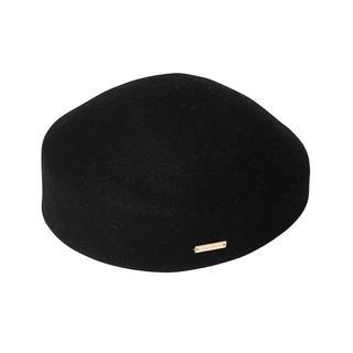 eimy istoire - 未使用 eimy トークハット ブラック 帽子 ベレー ハット