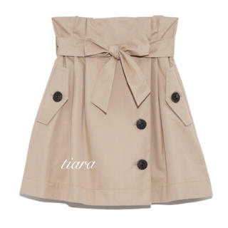snidel - 美品♡トレンチデザインミニスカート