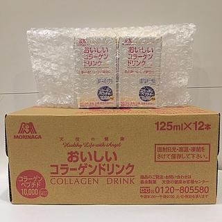 モリナガセイカ(森永製菓)の森永製菓 おいしいコラーゲンドリンク ☆ピーチ味 12本 レモン味 2本☆(コラーゲン)