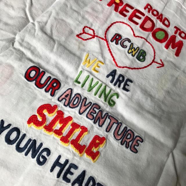 RODEO CROWNS WIDE BOWL(ロデオクラウンズワイドボウル)のRCWB✰刺繍シャツ レディースのトップス(シャツ/ブラウス(長袖/七分))の商品写真