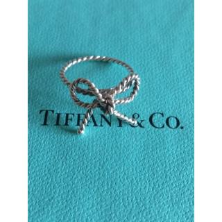 Tiffany & Co. - TIFFANY& Co. ツイストリボン リング 9号
