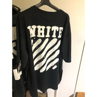 OFF-WHITE - Off-White ssense限定 spraypaint T-shirt