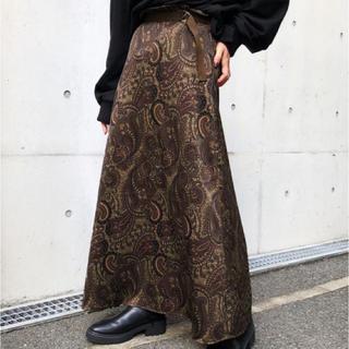 PAGEBOY - ペイズリーAラインスカート