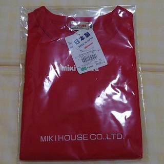 mikihouse - MIKI HOUSE 赤のロンT 100