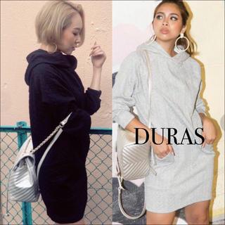 DURAS - DURAS スウェット パーカー ワンピース♡エモダ GYDA ジーナシス