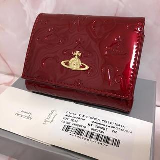 Vivienne Westwood - 赤エナメルがま口財布❤️ヴィヴィアンウエストウッド❤️新品・未使用