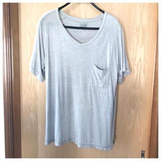 ノンネイティブ(nonnative)のNONNATIVE ノンネイティブ レーヨンVネックTシャツ ポケT カットソー(Tシャツ/カットソー(半袖/袖なし))