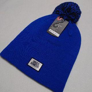 アンダーアーマー(UNDER ARMOUR)の新品 アンダーアーマー ニットキャップ ブルー UNDER ARMOUR(ニット帽/ビーニー)