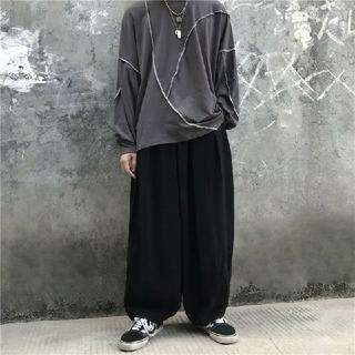 【大人気商品♡大特価セール】ストリート、韓国ファッション☆ワイドパンツ