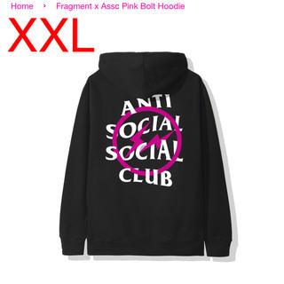 FRAGMENT - Anti Social Club fragment パーカー XXL 藤原ヒロシ