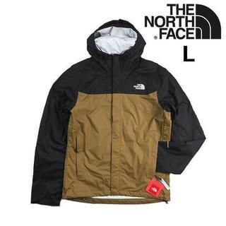 THE NORTH FACE - ノースフェイス ベンチャージャケット DRYVENT カーキ(L)180915