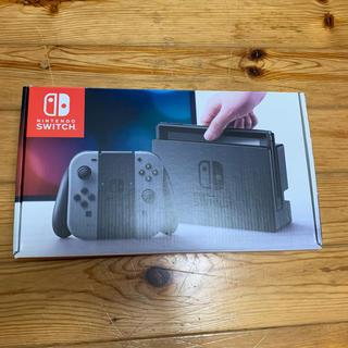 Nintendo Switch JOY-CON グレー 本体  HAC-S-KA