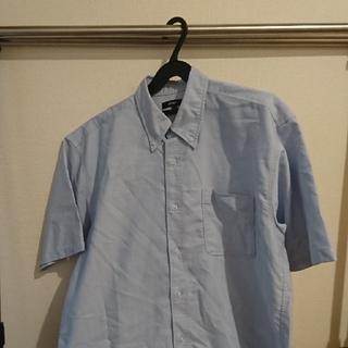 アイトス(AITOZ)のAITOZ 襟付き半袖シャツ サックス(シャツ)