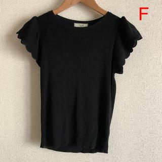 ノエラ(Noela)のNoela 黒 ブラウス フリーサイズ(シャツ/ブラウス(半袖/袖なし))