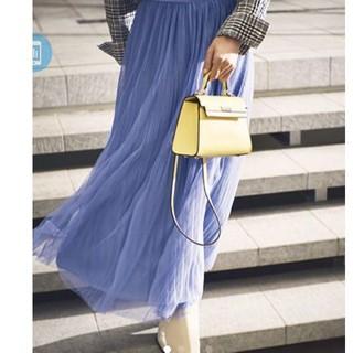 ミラオーウェン(Mila Owen)の美品 ミラオーウェン チュール スカート(ロングスカート)
