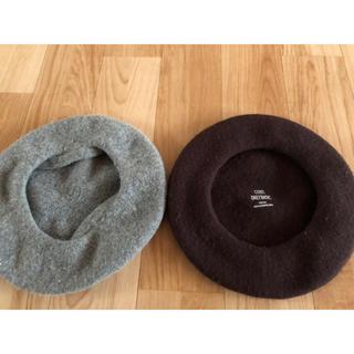 エムコーエン(M.Cohen)のベレー帽二個セット(ハンチング/ベレー帽)