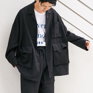 WHO'S WHO gallery - WHO'S WHO gallery<新品>ビッグシルエット カバーオールシャツ