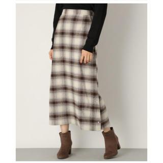 LEPSIM - サイドボタンセミタイトスカート