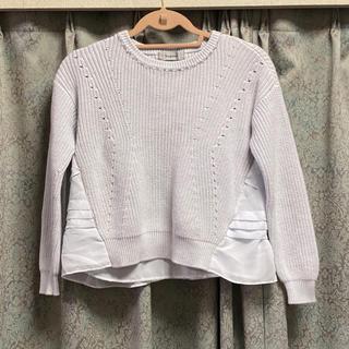 Rirandture - 美品♡ リランドチュール 水色 セーター フリル 春 ブルー
