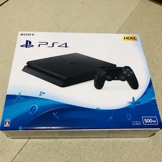 PlayStation4 - 未使用未開封☆プレイステーション4 500GB