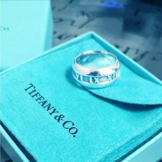 ティファニー(Tiffany & Co.)の☆新品☆未使用☆ティファニー アトラスニューメリックリング 8号(リング(指輪))