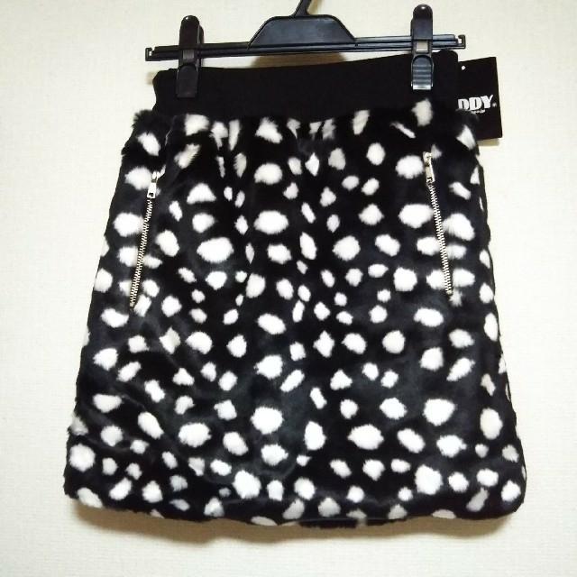ZIDDY(ジディー)の【新品】ZIDDY ダルメシアン柄スカート F 160 ジディ キッズ/ベビー/マタニティのキッズ服女の子用(90cm~)(スカート)の商品写真