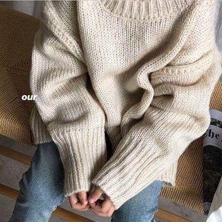 在庫限りSale☁ ゆったりニット 韓国子供服