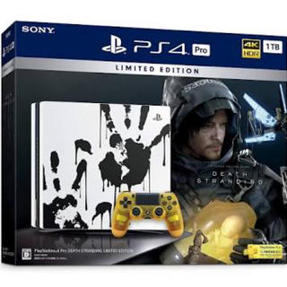 PlayStation4 - PS4 Pro DEATH STRANDING LIMITED EDITION
